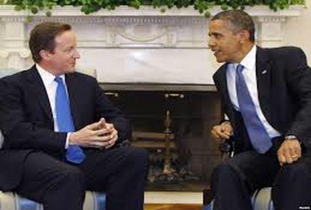 اوباما و کامرون درباره ایران گفتگو کردند