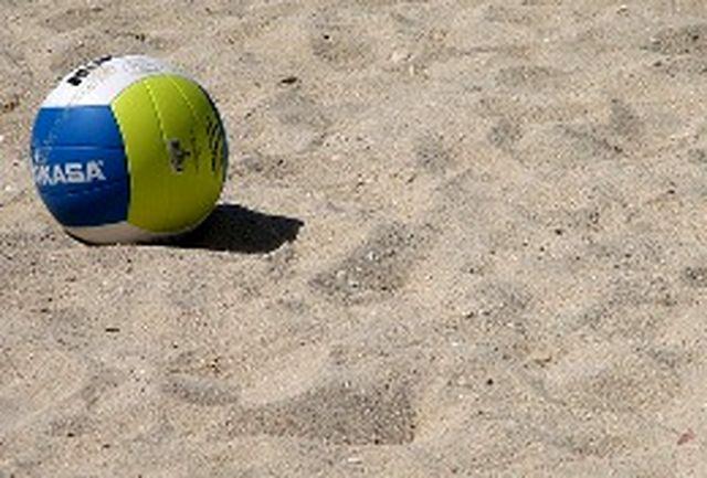 آغاز والیبال ساحلی زیر 21 سال کشور با حضور 18 تیم