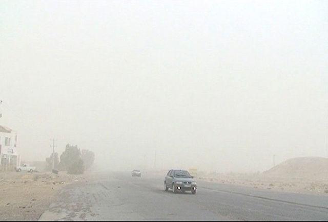 افزایش شدت طوفان شن در استان