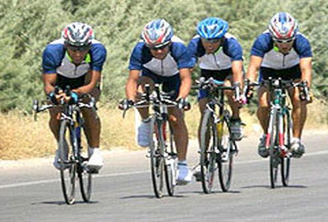 دوچرخه سواری ایران برترین تیم آسیا