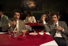 جدیدترین تصاویر بابک حمیدیان و رضا عطاران در فیلم مهران احمدی