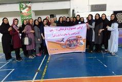 اولین جشنواره فراغت بانوان با ورزش در تربت حیدریه برگزار شد