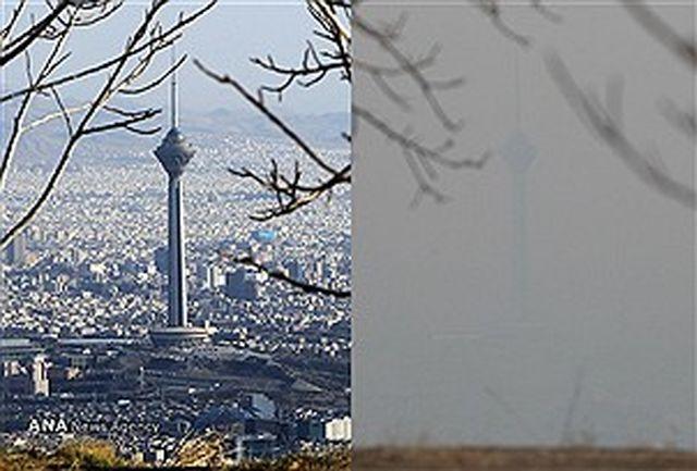 شاخص آلودگی تهران درحد هشدار نیست
