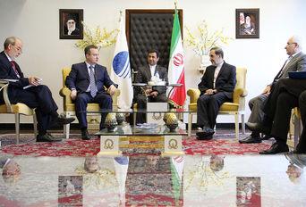دیدار  رئیس مرکز تحقیقات استراتژیک مجمع تشخیص مصلحت نظام با وزیر خارجه صربستان