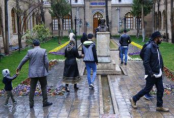 نوروز در تهران ((باغ موزه نگارستان))