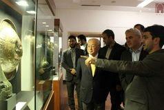 بازدید آمانو از موزه ملی ایران