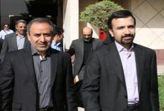 تقدیررئیس مرکز ملی فرش ایران از رئیس سازمان صنعت،معدن وتجارت لرستان