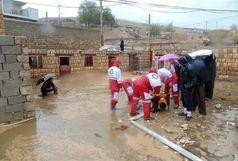 امدادرسانی به 800 نفر در سیل باغملک/پایان عملیات امدادرسانی