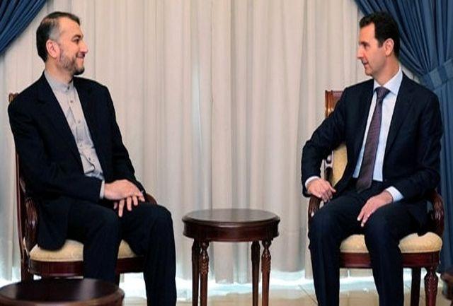 بشار اسد از طرح ایران برای بحران سوریه استقبال کرد