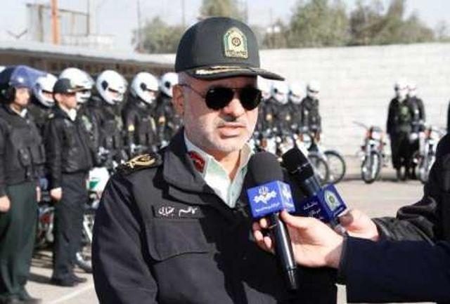استقرار نیروهای پلیس در 50 نقطه از شهر قم همزمان با چهارشنبه آخر سال