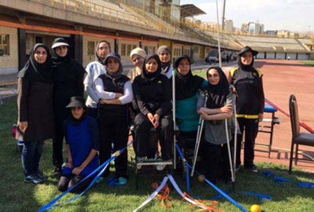 رقابت های انتخابی دو و میدانی جانبازان و معلولان البرز