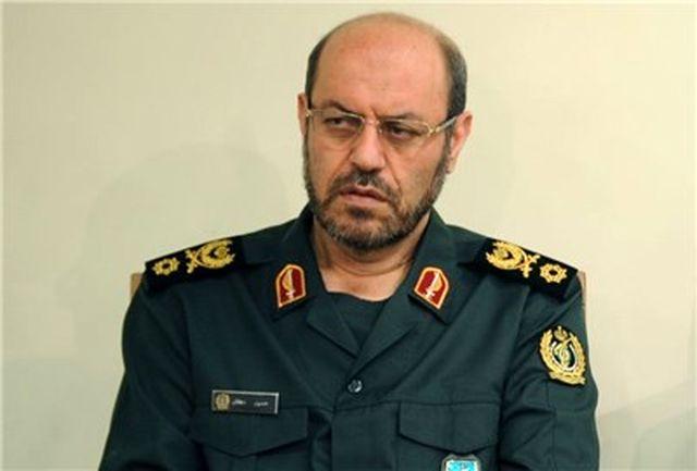 تبریک عیدانه وزیر دفاع به همتایان خود