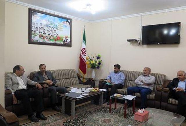 برگزاری نشست هم اندیشی شرکت آب منطقه ای با اداره کل آموزش و پروش استان هرمزگان