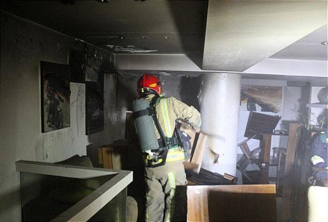 کشته و مجروح شدن 3 آتش نشان یزدی در عملیات اطفا حریق