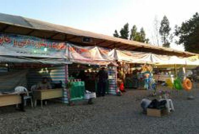 برپایی 2 نمایشگاه فرهنگی- هنری تابستانی در طرح های سالم دریا در آستارا