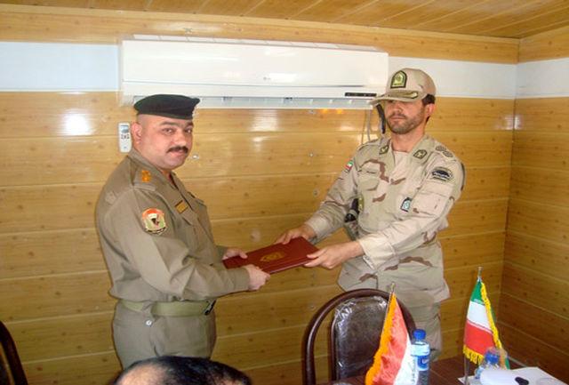 کلانتران مرزی دهلران و العماره عراق دیدار کردند