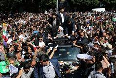 دفتر رییس جمهوری از استقبال پرشور مردم استان مرکزی تقدیر کرد