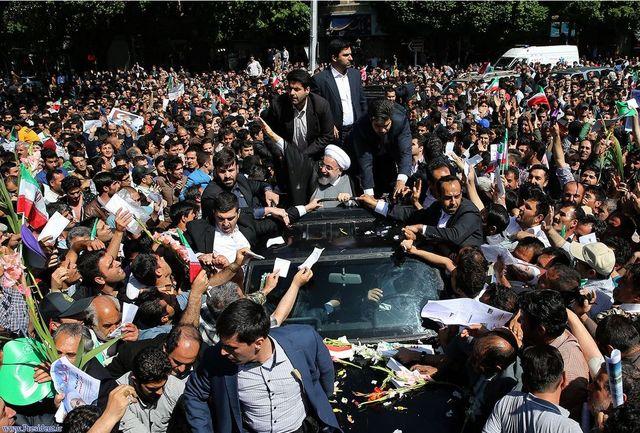 قدردانی دفتر رییس جمهوری از استقبال پرشور مردم غیور تبریز
