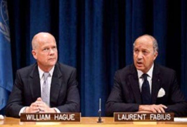 وزرای خارجه فرانسه و انگلیس امروز با ظریف دیدار میکنند