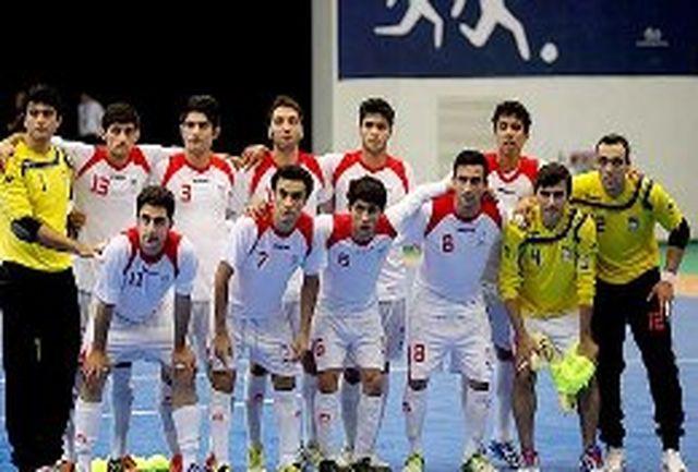 حفظ جایگاه فوتسال ایران در ردهبندی جهانی