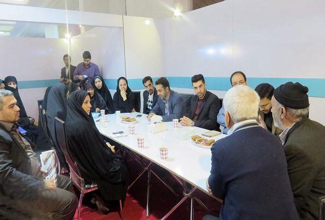 اصحاب رسانه شهرستان ری در نمایشگاه مطبوعات گرد هم آمدند