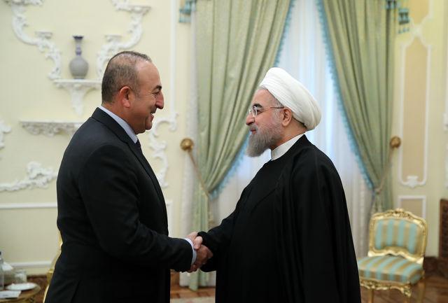 ثبات منطقه، بویژه عراق و سوریه باید مبنای تعامل ایران و ترکیه باشد