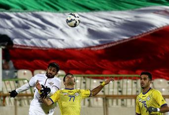 دیدار تیمهای نفت ایران و الجیش قطر