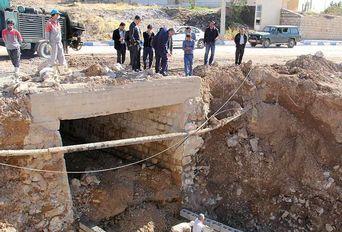 بازدید مدیر کل نظارت بر طرحهای عمرانی وزارت علوم از خسارات سیلاب به دانشگاه ایلام
