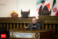 لاریجانی: محور حرکت ملت ایران در سال 96 اقتصاد مقاومتی خواهد بود
