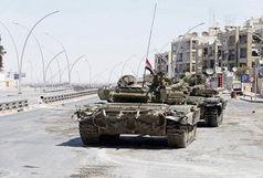 پیشروی ارتش سوریه در پالمیرا