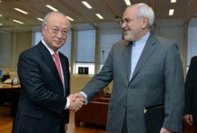 دیدار ظریف با مدیرکل آژانس بینالمللی انرژی اتمی/آغاز مذاکرات با یک ساعت تاخیر
