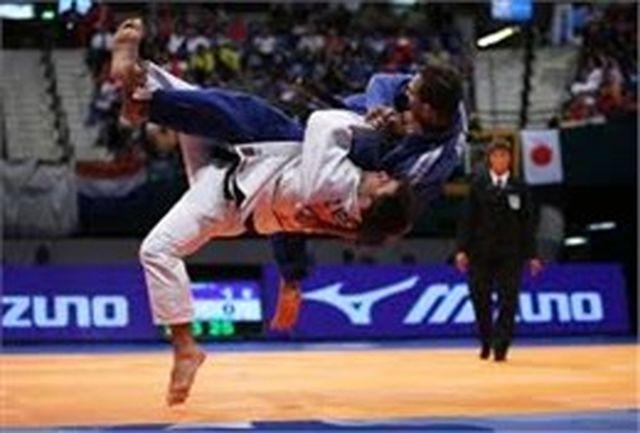 تمرین ملی پوشان جودو در کنار قهرمانان المپیک و جهان