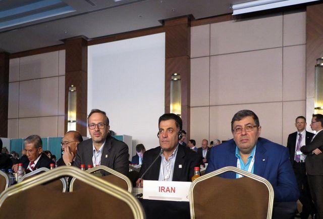 عضویت ایران در هیأت حاکمه فدراسیون بینالمللی جمعیتهای صلیب سرخ و هلال احمر