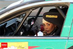 مسابقه اتومبیلرانی رالی شهری در مشهد