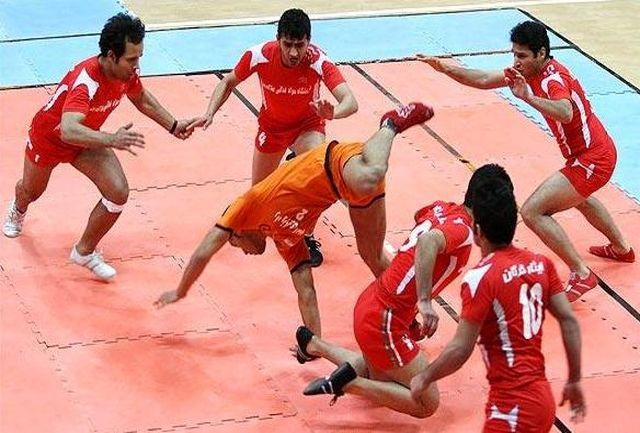 مرحله نهایی لیگ برتر کبدی برگزار می شود