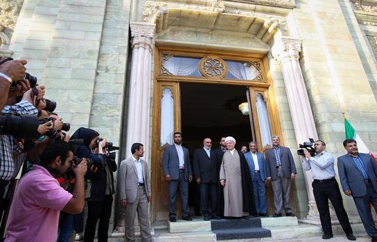 دیدار رییس جمهور قرقیزستان با رییس مجمع تشخیص مصلحت نظام