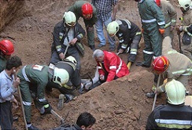 آوار گود برداری غیراصولی بر سر ساکنان/جسد نفر دوم هم بیرون کشیده شد