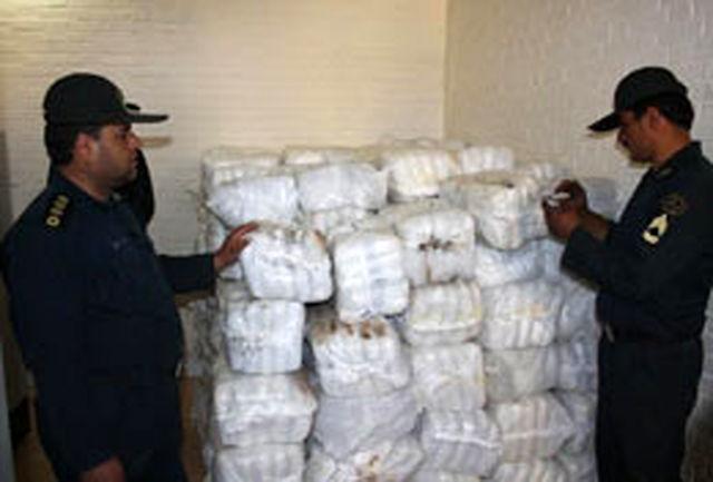 کشف 2 تن مواد مخدر در کشور
