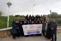 بانوان دانشگاه علوم پزشکی خراسان شمالی توانمندیهای خود را در عرصه ورزش  به نمایش گذاشتند