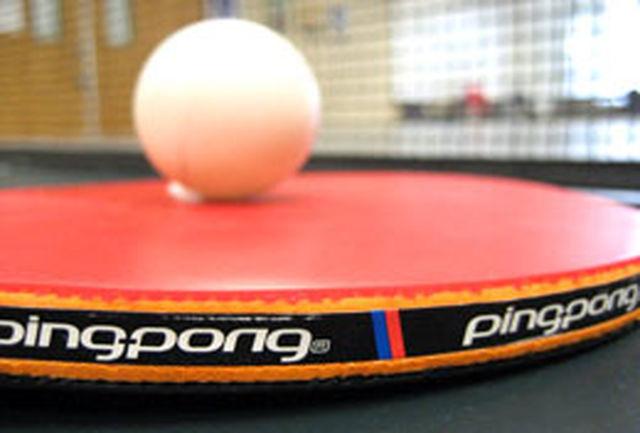 تیم های برتر مسابقات پینگپنگ کارکنان دولت شناخته شدند