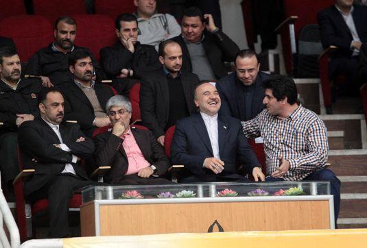 حضور وزیر ورزش و جوانان در جمع پهلوانان
