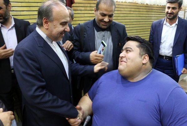 پیام تصویری وزیر ورزش و جوانان به مناسبت روز تربیت بدنی