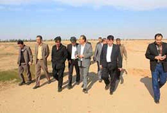 بازدید معاون استاندار ایلام از طرحهای منابع طبیعی شهرستان مهران