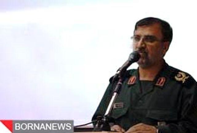سپاه اجازه تجاوز دشمنان به خاک جمهوری اسلامی را نخواهد داد