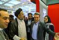 وزیر اطلاعات از غرفه خبرگزاری برنا بازدید کرد