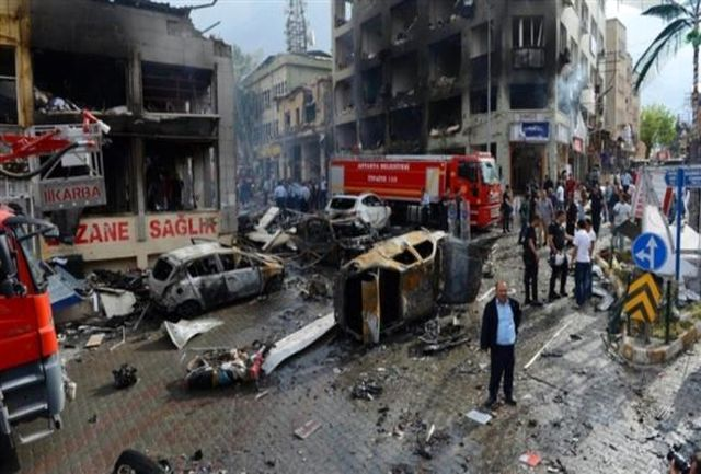 انفجار بمب در مرز سوریه و ترکیه بیش از 40 کشته و زخمی بر جای گذاشت