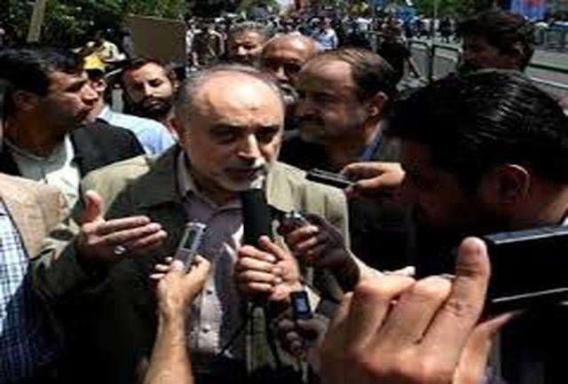 صالحی در راهپیمایی روز جهانی قدس شرکت کرد