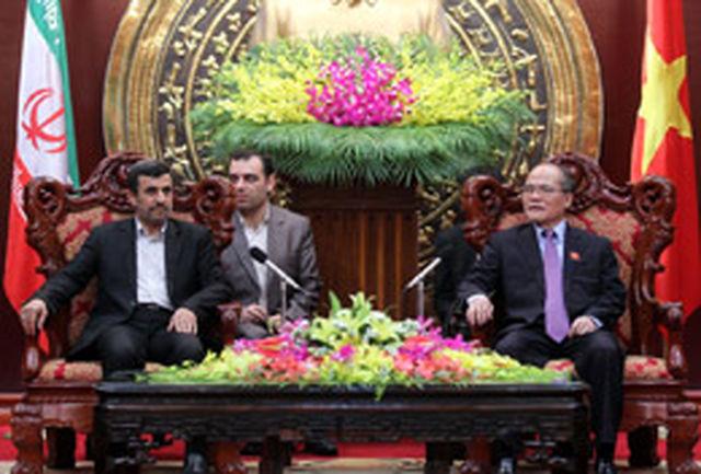 دو ملت ایران و ویتنام در یک جبهه فرهنگی و انسانی قرار دارند
