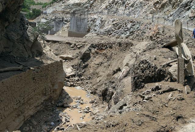 روستای سیل زده چالوس تخلیه شد