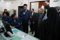 روحانی از مراحل اجرایی طرح آماک در خوزستان بازدید کرد/ جلوگیری از سوزانده شدن روزانه ٢٤١ میلیون فوت مکعب گاز ترش
